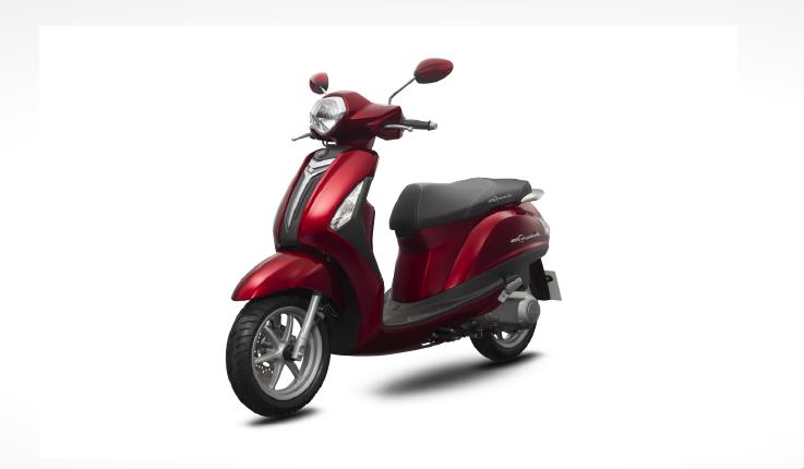 Yamaha Grande - phiên bản cao cấp - đỏ