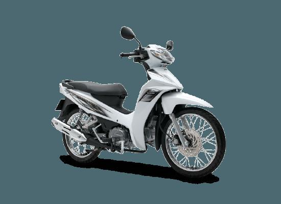 Honda Blade 110cc - tiêu chuẩn - trắng đen