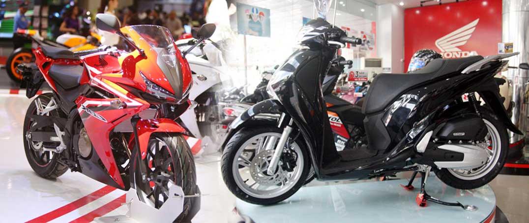 Honda ra thêm 10 mẫu xe mới ở Việt Nam trong 9 tháng