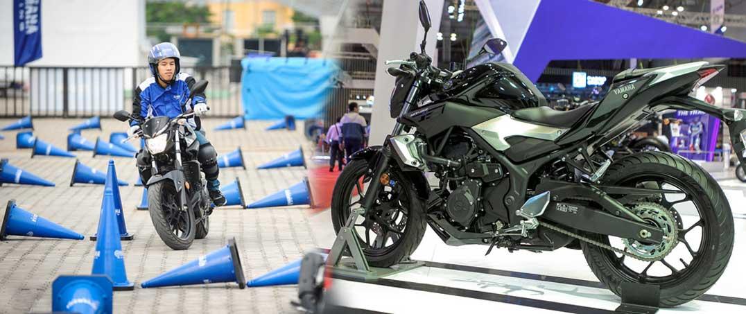 Yamaha MT-03 chính hãng giá 139 triệu đồng tại Việt Nam