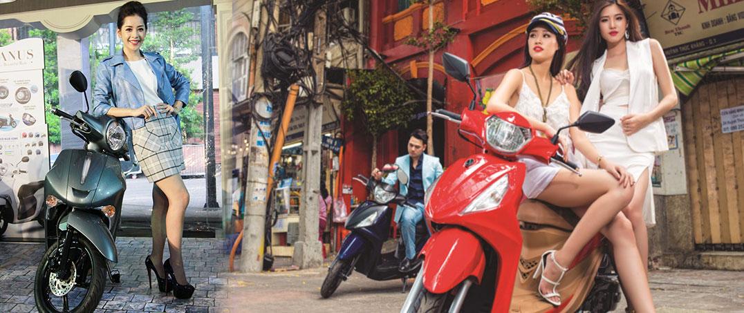 5 xe máy bán chạy nhất nửa đầu 2017 ở Việt Nam