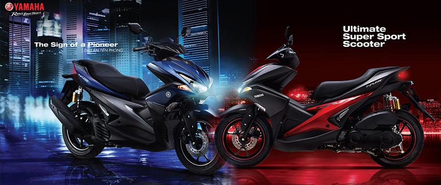 Yamaha NVX chính thức phân phối chắn bùn chính hãng và ra mắt hàng loạt màu mới
