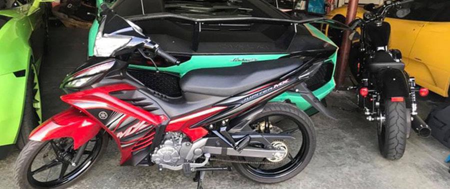 """Yamaha Exciter 135 """"độc nhất"""" nước Mỹ của người Việt sở hữu dàn siêu xe """"khủng"""""""
