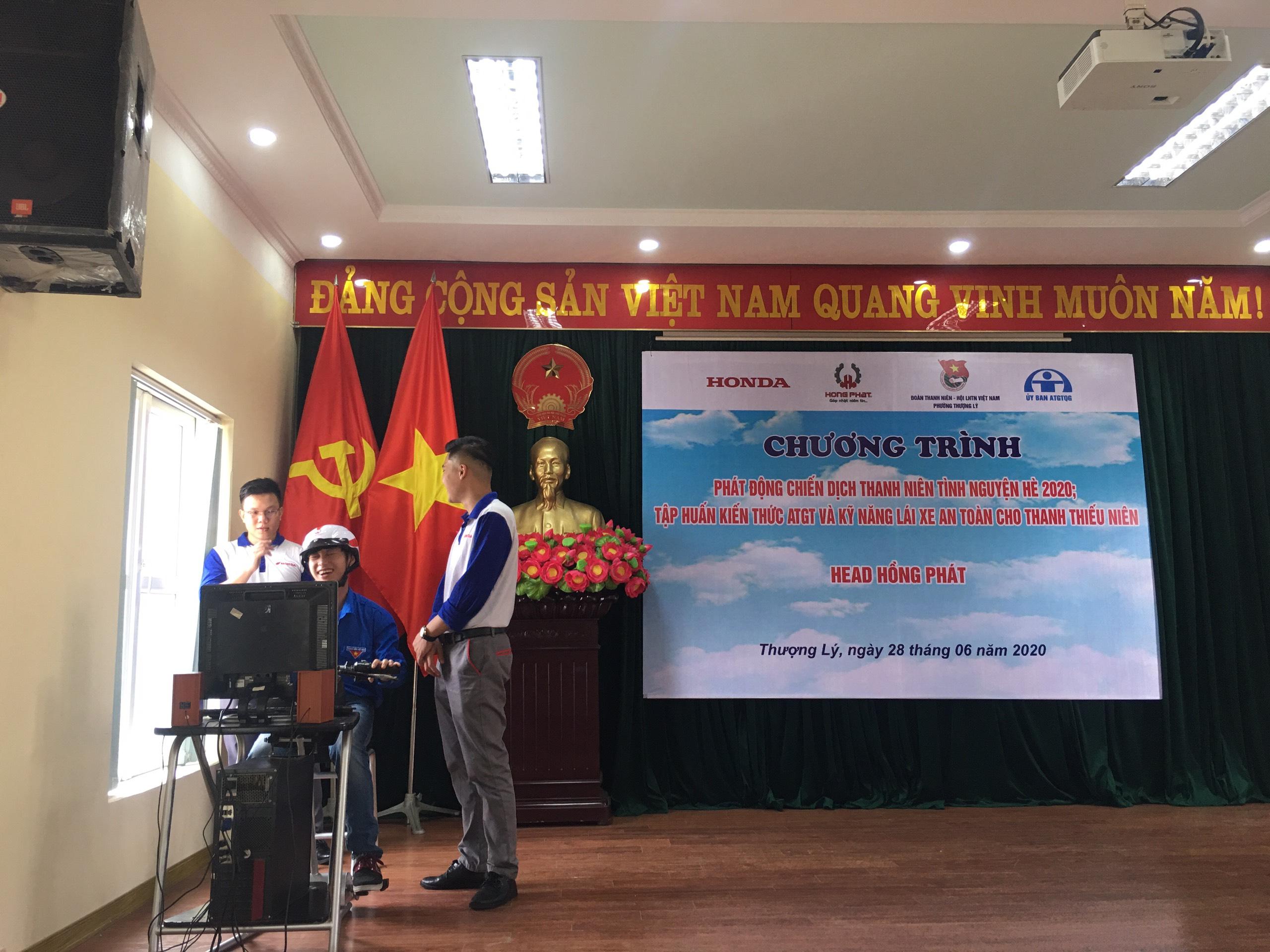 Honda Hồng Phát đồng hành cùng Ngày hội thanh niên với văn hóa giao thông 2020