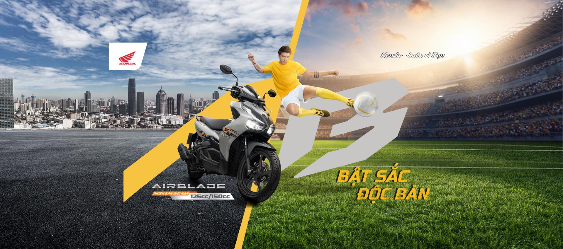 Honda Việt Nam giới thiệu phiên bản giới hạn Honda Air Blade 150cc/125cc – Bật sắc độc bản