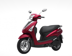 Yamaha Acruzo -phiên bản tiêu chuẩn 2016 - đỏ