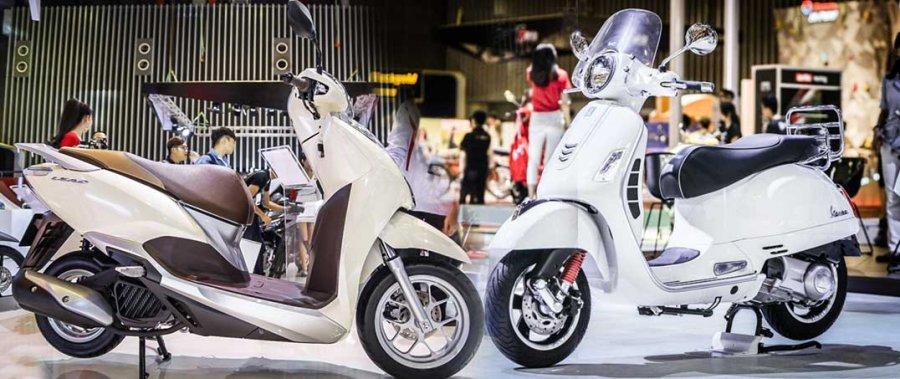 Loạt xe máy mới ra mắt thị trường Việt Nam