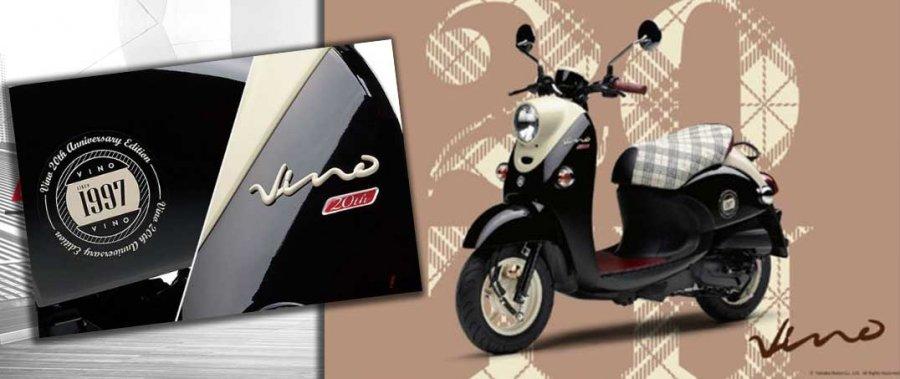 """Yamaha Vino bản đặc biệt """"đốn tim"""" phái đẹp"""