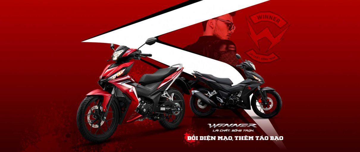 Honda WINNER 150 phối màu mới phong cách cùng tem xe riêng biệt – Đổi diện mạo, thêm táo bạo!