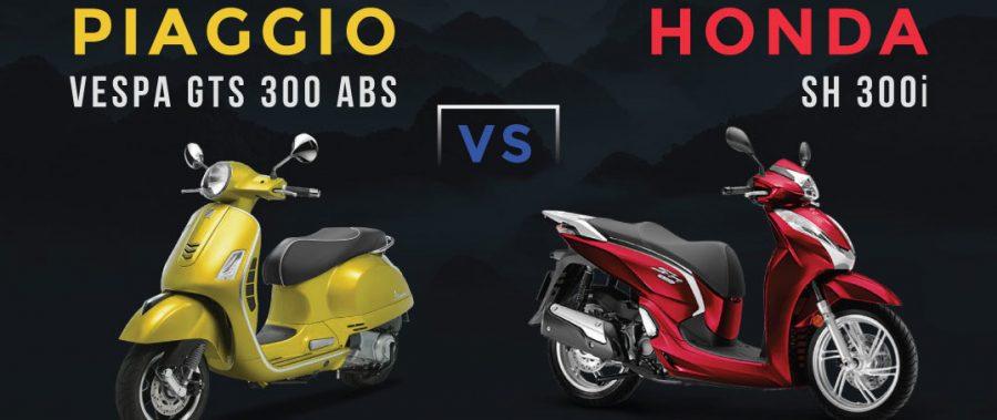 Vespa GTS 300 ABS có những gì để cạnh tranh Honda SH 300i ?