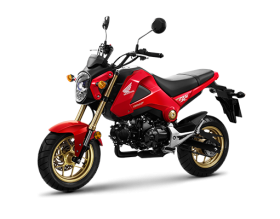 honda msx 125cc - đỏ