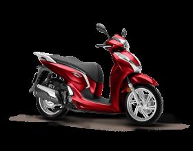 Honda SH 300cc - Đỏ đen
