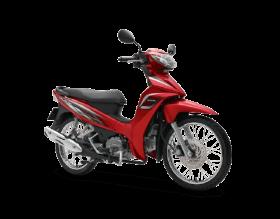 Honda Blade 110cc - tiêu chuẩn - đỏ đen