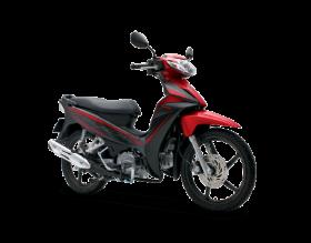 Honda Blade 110cc - thể thao - đen đỏ