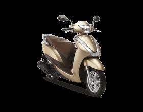 Honda lead 125cc - phiên bản cao cấp - vàng nâu
