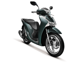 Honda SH150i - CBS - xanh lục-đen