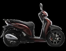 honda sh mode 125cc - phiên bản cá tính - đỏ đậm