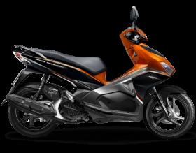 Honda Air Blade 125cc - Phiên bản thể thao - cam đen