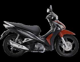 Honda Future 125cc - Đen đỏ xám