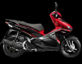 Honda Air Blade 125cc - Phiên bản thể thao - đỏ đen