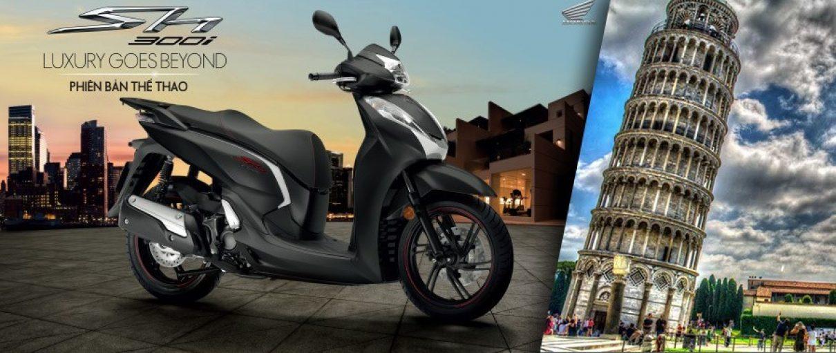 Honda Việt Nam ra mắt SH300i phiên bản thể thao