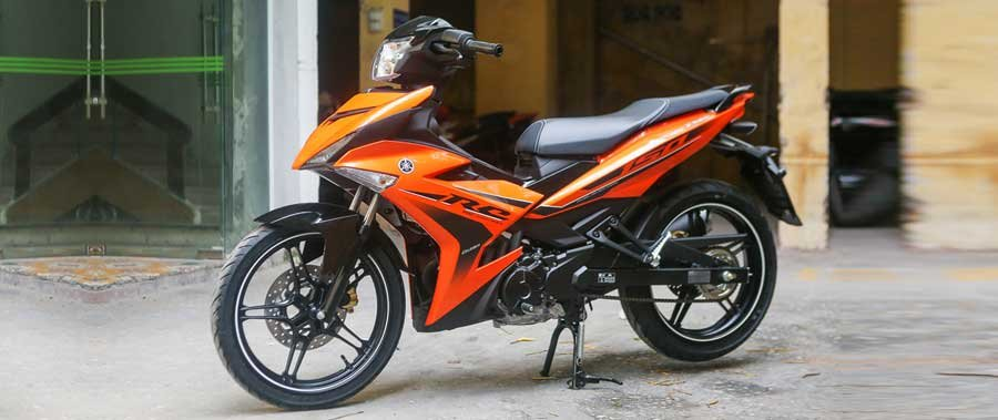 Chi tiết Yamaha Exciter màu cam mới bán tại Việt Nam