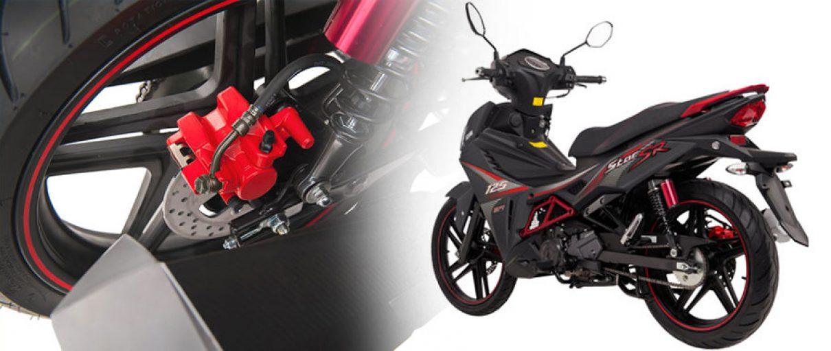 SYM ra mắt mẫu xe côn tay 125 cc hoàn toàn mới