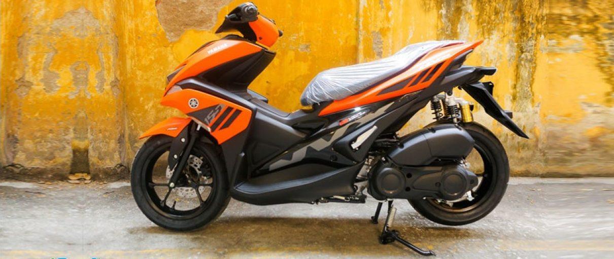 Yamaha NVX 2018 màu cam mờ đã ra mắt