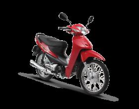 Honda Wave Alpha 100cc - đỏ đen bạc