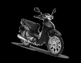 Honda Wave Alpha 100cc - đen bạc