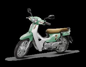 Honda Dream 110cc - xanh phong cách