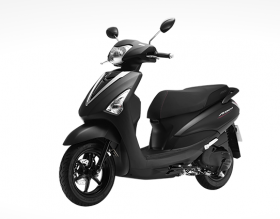 Yamaha Acruzo -phiên bản cao cấp 2016 – đen mờ