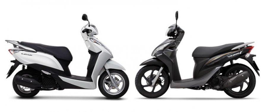So sánh nên mua Honda LEAD hay VISION