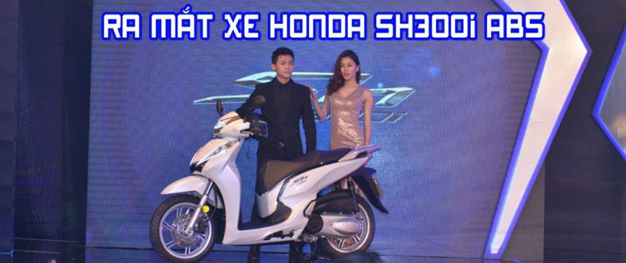 Honda Việt Nam giới thiệu mẫu xe nhập khẩu – SH300i ABS