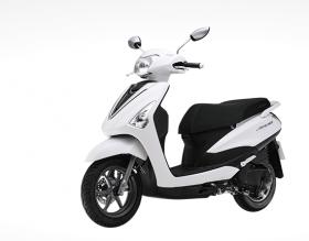 Yamaha Acruzo -phiên bản cao cấp 2016 – trắng